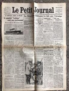 N99-La-Une-Du-Journal-Le-Petit-Journal-9-Mai-1915