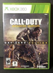 Call of Duty: Advanced Warfare Day Zero Edition (MICROSOFT XBOX 360, 2014)