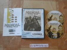 ELDORADODUJEU   MEDIEVAL TOTAL WAR Pour PC VF 2 CD PROCHE NEUF