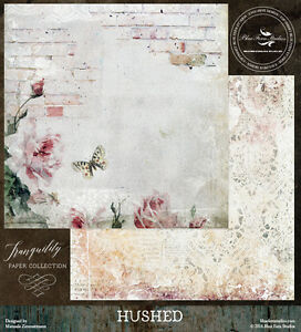 Blue Fern Studios 12x12 Paper: Tranquility Collection - Hushed