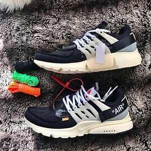 outlet store 060c3 397a9 Image is loading NIKE-OFF-WHITE-X-AIR-PRESTO-OG-The-