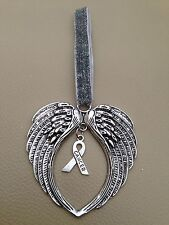 Guardian Angel Wings Hanging Charm   - Car, Bag Tree Etc..