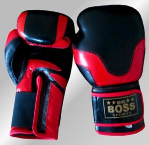 LEDER Sandsackhandschuhe Handschuhe Sandsack Gerätehandschuhe BAY® PROFI GEL