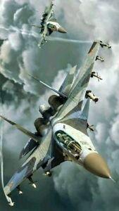 toile tableaux  aviation avion de chasse     50x70 cm