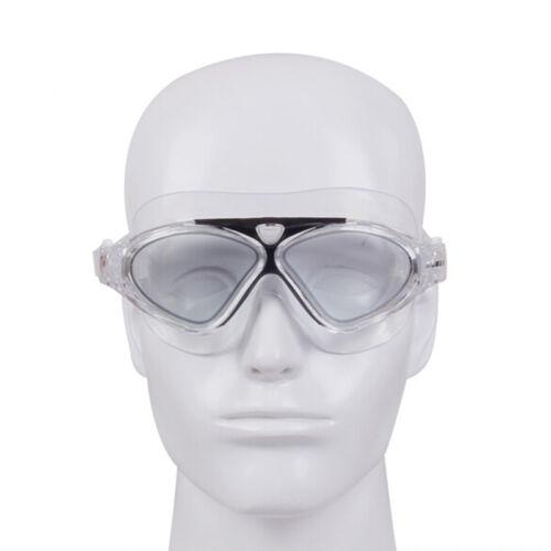 Unisex Adult Big Frame Super Clear Anti Fog Lens Swim Glasses Swimming Goggles