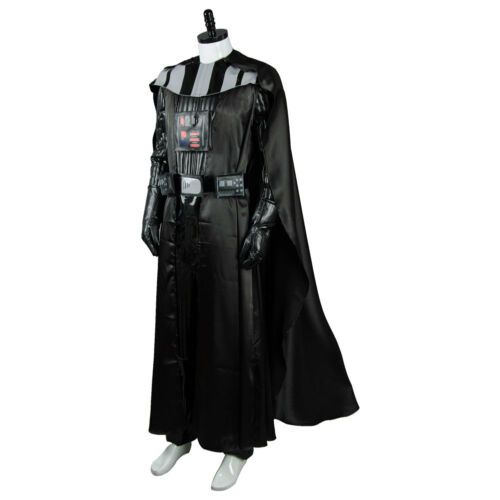 Star Wars Sith Darth Vader Anakin Skywalker Outfit Set Cosplay Costume Uniform