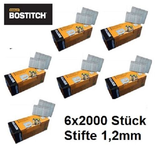 12'000 50mm Stauchkopfnägel Brads Nägel für Bostitch BT 1855 Prebena J BeA Senco