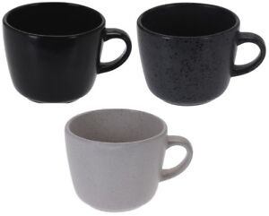 Soup Extra Large Coffee About Stoneware Details Cups Mugs Grey Of 4 Cocoa Set lcTFJ1K
