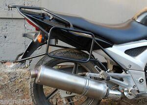 Honda VTR 250 Rear rack luggage carrier Black Mmoto HON0175 VTR250 ACCESSORIES