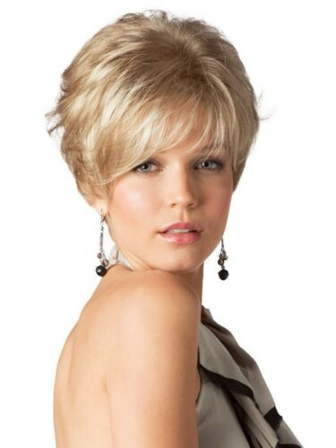 SIN CITY WIGS RENE OF PARIS GIA SHORT TEXTURED LAYERS STRAIGHT CUTE FUNKY PIXIE