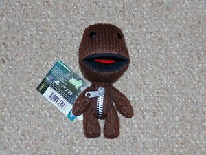 2010-Senario-7-034-Little-Big-Planet-2-Sackboy-Plush-Doll-New-with-Tags