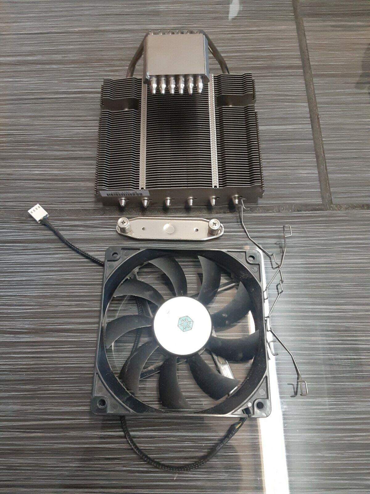 SilverStone Tek Compact 82mm Tall CPU Cooler