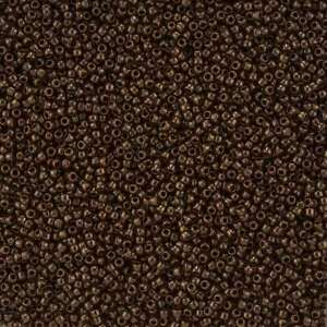 Toho-Round-Size-15-0-Seed-Beads-TR-15-46-Opaque-Oxblood-8-2g-L16-3