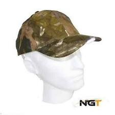 NGT Camo Baseball Cap with LED Lights for fishing hunting walking and camping