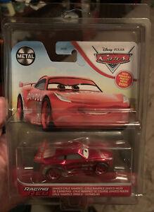 DISNEY- PIXAR- CARS- RACING RED- DINOCO CRUZ RAMIREZ- 2021- METAL IN HAND HTF