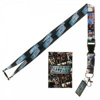 Jay And Silent Bob Strike Back Neck Lanyard Id Badge Holder Key Chain Sticker