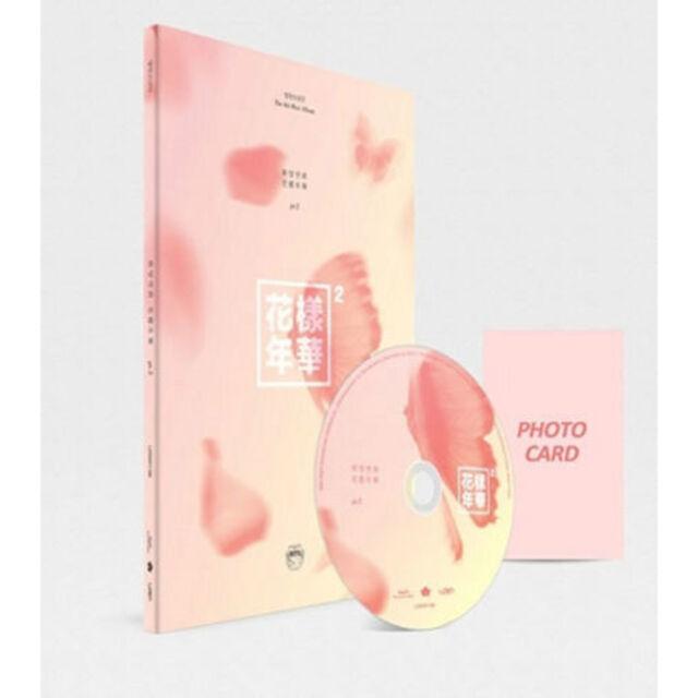 BTS [In The Mood For Love] PT.2 4th Mini Album (Peach Ver.) Photobook+ Photocard