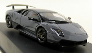 Details About Autoart 1 43 Scale Lamborghini Murcielago Lp 670 4 Sv Grey Diecast Model Car