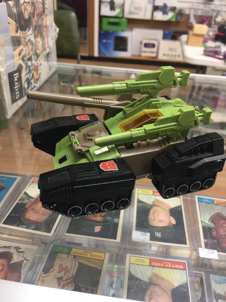 Transformers Hardhead Vintage G1 Figura de Acción 7.5 director completa 1987 Buen