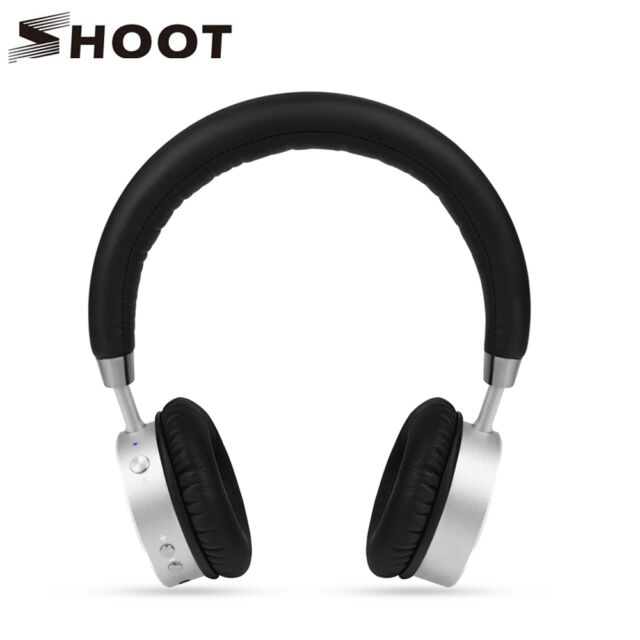 Pro High Fidelity Over Ear Wireless Headphones Headset Mic Bluetooth 4.0 Stereo