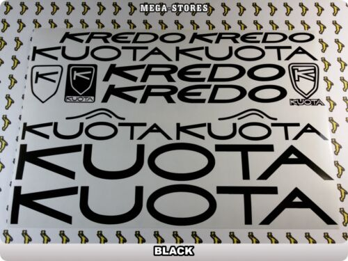 KUOTA Stickers Decals Bicycles Bikes Cycles Frames Forks Mountain MTB BMX 59Z