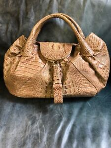 587879b99960 FENDI ALLIGATOR SPY BAG LIMITED Ed Runway Authentic PLEASE READ Orig ...