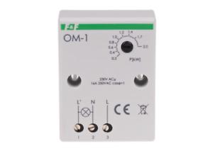 F-amp-F-OM-1-Stromverbrauch-Begrenzer-230V-AC-16A-2000VA-1x-NO-IP20-Power-Limiter