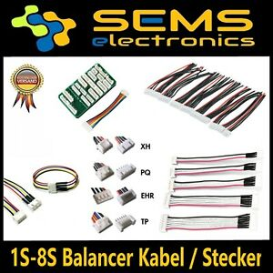 2s-3s-4s-5s-6s-8s-balanceador-alargador-JST-xh-JST-eh-Lipo-bateria-de-cable