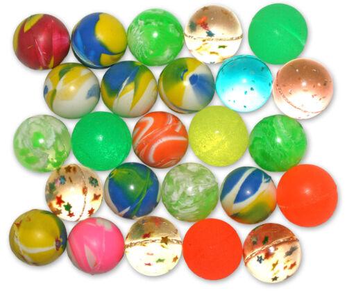 100/300/900 x Flummis Flummi Springball 20 mm Bälle Ball diverse Farben Muster Großhandel & Sonderposten Spielzeug