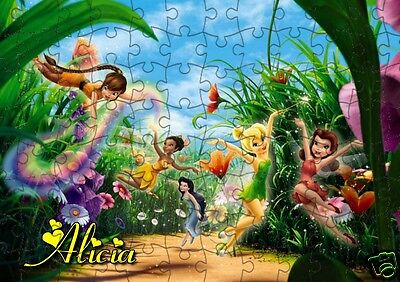 puzzle LA FEE CLOCHETTE  REF 25GM 252 PIECES AVEC OU SANS  PRENOM