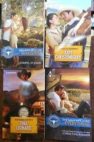 Harlequin Romance Cowboy 4 Pack With Two 2015 Titles Paperback Set 312
