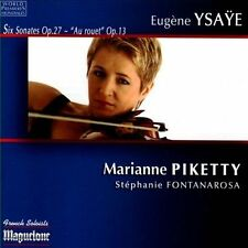 Ysaye: Six Sonates Op. 27, 'Au rouet' Op. 13, New Music