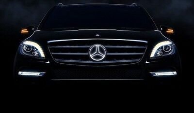 Mercedes Benz Illuminated LED Star GL X166 GL350 GL450 GL550 GL63 2013 13