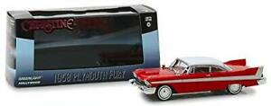 GREENLIGHT-CHRISTINE-MOVIE-1958-PLYMOUTH-FURY-1-43-DIECAST-MODEL-CAR-RED-86529