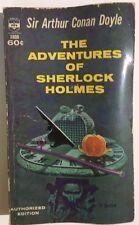THE ADVENTURES OF SHERLOCK HOLMES by Sir Arthur Conan Doyle (1963) Berkley pb