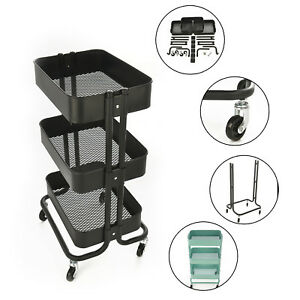 office trolley cart. Contemporary Trolley Image Is Loading 3TierStorageTrolleyCartKitchenOfficeTrolley For Office Trolley Cart R