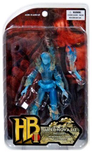 Hellboy 2 The Golden Army Super Nova Liz Action Figure Translucent Blue