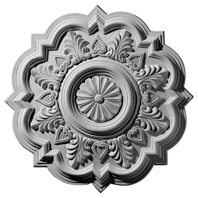 """20 1/4""""OD x 5""""ID x 1 1/2""""P Ceiling Medallion, CM6078"""