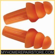 5 10jackson Safetytriple Flange Tpe Rubber26 Dbuncordedreusableear Plug