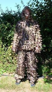 3D Leaf Hunting Ghillie Suit /LLCS Camoflague Suit/ Shooting, Stalking camo suit 5060513222516