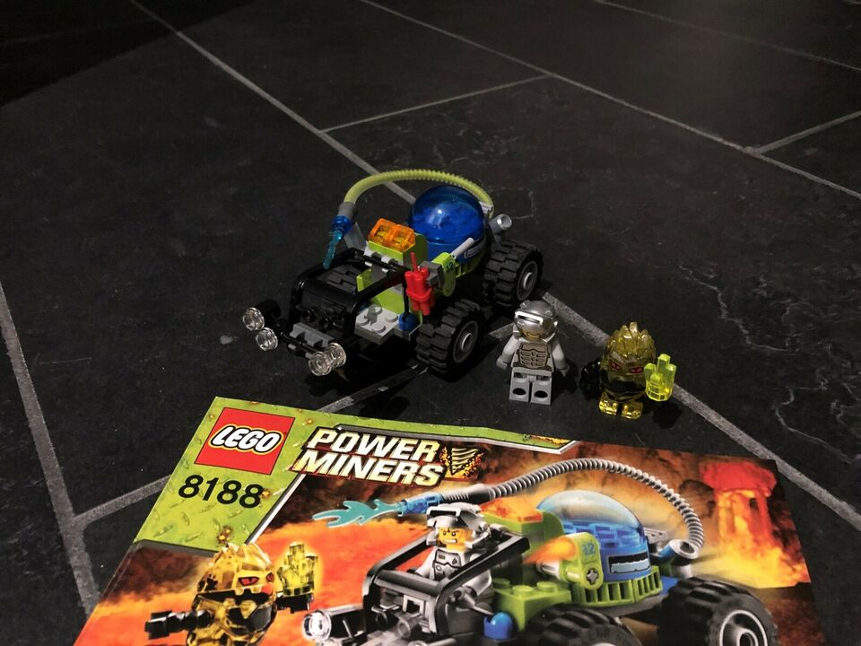Lego Power Miners, 8188 Fire Blaster