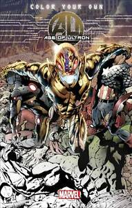 Color Your Own AGE OF ULTRON ADULT COLORING BOOK Marvel Comics SC | eBay