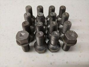 VERY-NICE-SET-16-USED-ORIGINAL-GENUINE-PORSCHE-914-STEEL-LUG-BOLTS-M14X1-5X25