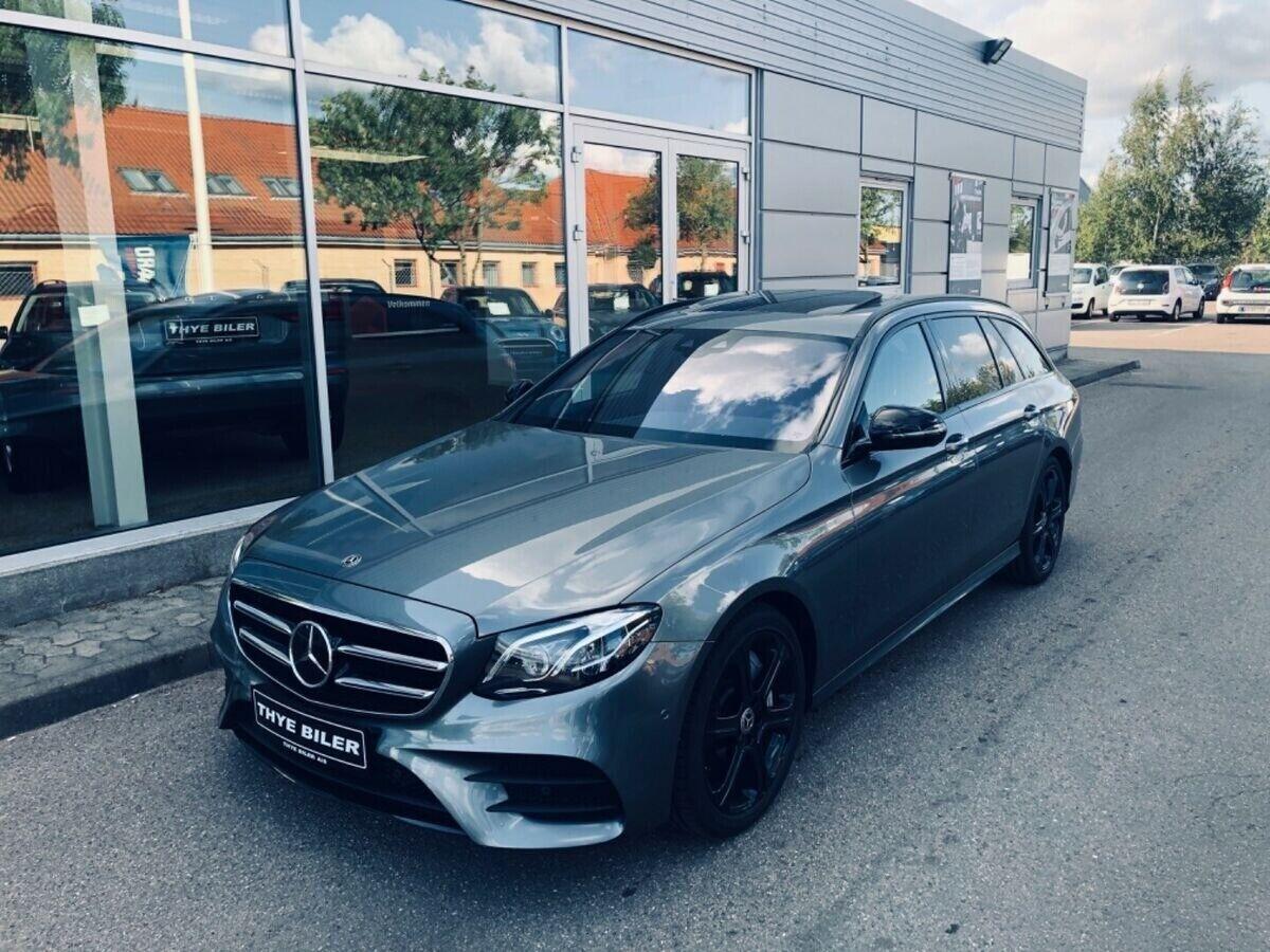 Mercedes E350 d 3,0 AMG Line stc. aut. 5d