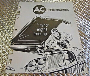 Buick Engine Motor Service Tune Up Shop Manual 1957 1958 1959 1960