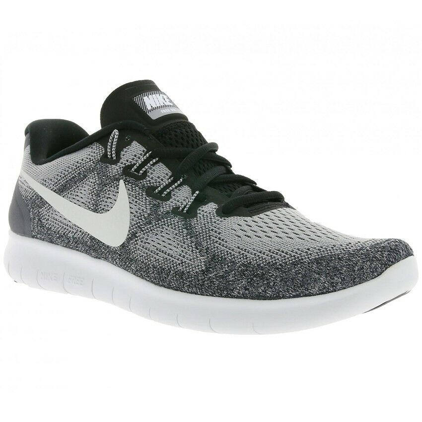 Nike Free RN 2017 Running Training shoes Grey Off White 942839 002 Mens Sizes NEW