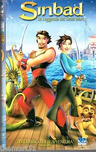 Sinbad. the Legend of the Seven Seas (2003) VHS DREAMWORKS ...