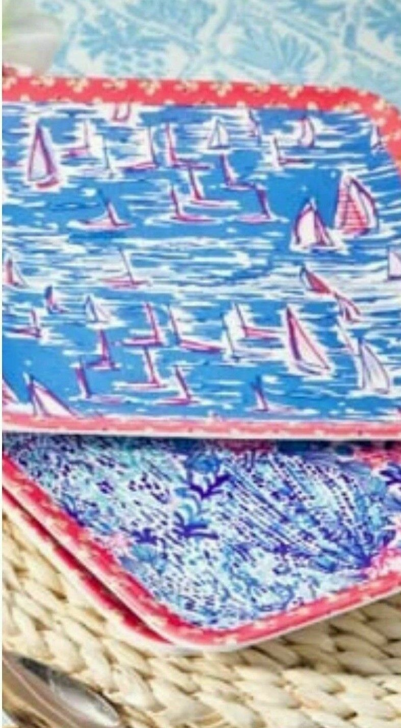 NIB Lilly Pulitzer GWP Boatylicious & Sway With Me 8