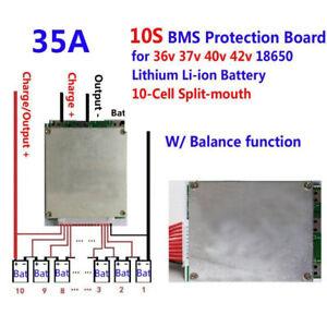 10s-36v-35a-Bateria-de-LI-ION-proteccion-bordo-BMS-PCB-equilibrio-Funcion