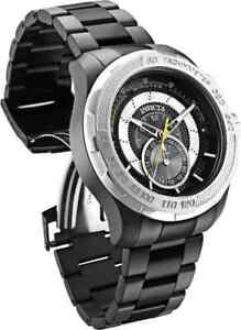Invicta-S1-Rally-Quartz-Black-Dial-Black-Ion-plated-Men-039-s-Watch-30574